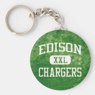 Porte-clés Porte - clé de chargeurs d'Edison