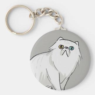 Porte-clés Porte - clé de chat persan