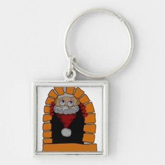Porte-clés Porte - clé de cheminée de Père Noël