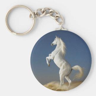 Porte-clés Porte - clé de cheval blanc