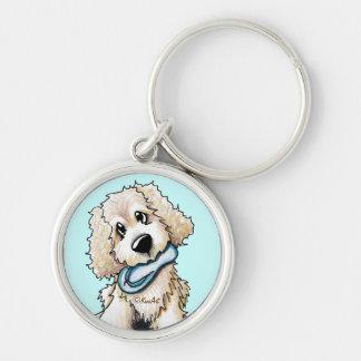 Porte-clés Porte - clé de chien de griffonnage