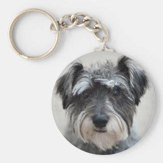 Porte-clés Porte - clé de chien de Schnauzer