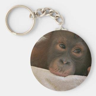 Porte-clés Porte - clé de chimpanzé de bébé