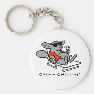 Porte-clés porte - clé de chinchillin
