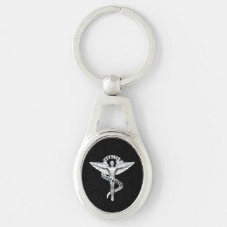 Porte-clés Porte - clé de chiroprakteur d'emblème de