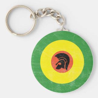 Porte-clés Porte - clé de cible de mod de la Jamaïque