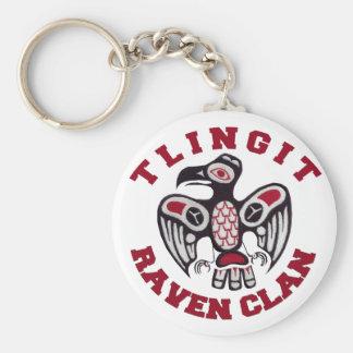 Porte - clé de clan de Raven de Tlingit