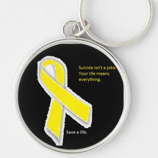 Porte-clés Porte - clé de conscience de suicide