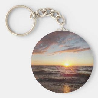 Porte-clés Porte - clé de coucher du soleil