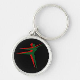 Porte-clés Porte - clé de danseuses de femmes