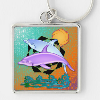 Porte-clés Porte - clé de dauphin