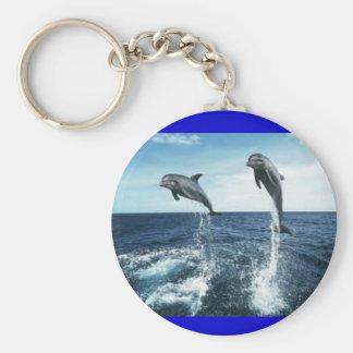 Porte-clés porte - clé de dauphins