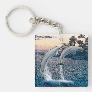 Porte-clés Porte - clé de dauphins de la Floride