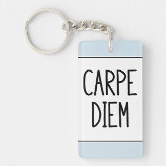 Porte-clés porte - clé de diem de carpe - de motivation