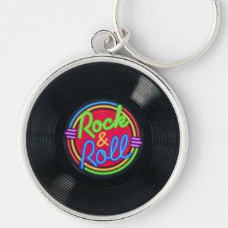 Porte-clés Porte - clé de disque vinyle de rock