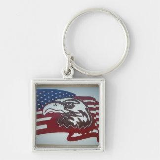 Porte-clés porte - clé de drapeau d'aigle