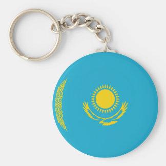 Porte-clés Porte - clé de drapeau de Kazakhstan Fisheye