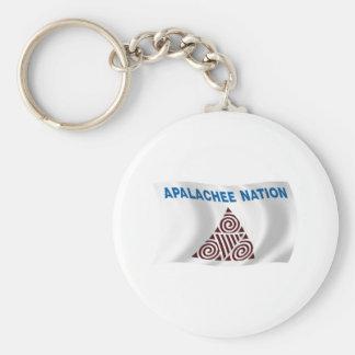 Porte-clés Porte - clé de drapeau de nation d'Apalachee