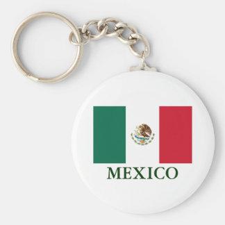 Porte-clés Porte - clé de drapeau du Mexique