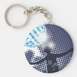 Porte-clés Porte - clé de exécution du DJ