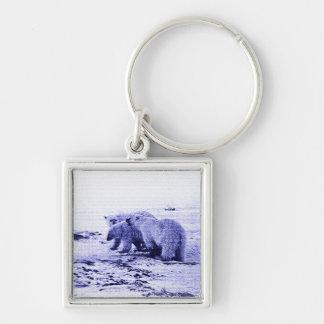 Porte-clés Porte - clé de famille de trois ours