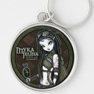 Porte-clés Porte - clé de fée d'Aviatrix de Steampunk