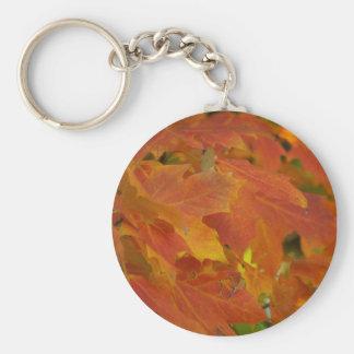 Porte-clés Porte - clé de feuille d'automne