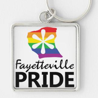 Porte-clés Porte - clé de fierté de Fayetteville