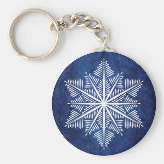Porte-clés Porte - clé de flocon de neige