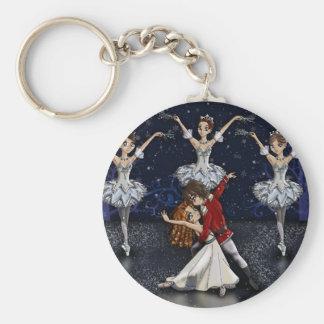 Porte-clés Porte - clé de flocons de neige de casse-noix