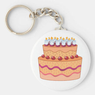 Porte-clés Porte - clé de gâteau