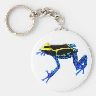 Porte-clés Porte - clé de grenouille de dard de poison