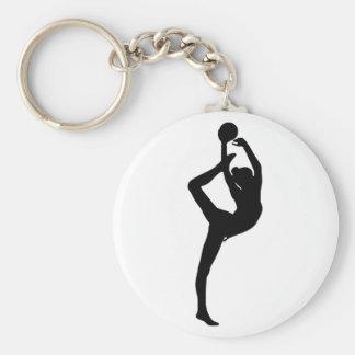 Porte-clés Porte - clé de gymnastique rythmique