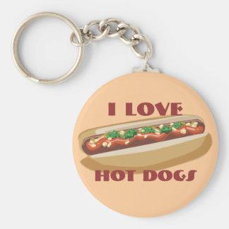 Porte-clés Porte - clé de hot-dog