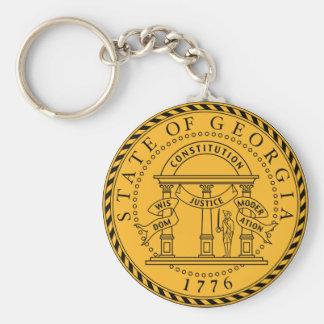 Porte-clés Porte - clé de joint d'état de la Géorgie