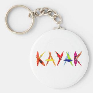 Porte-clés porte - clé de kayak