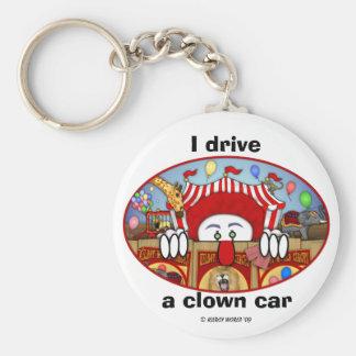 Porte-clés Porte - clé de Kilroy de clown de cirque