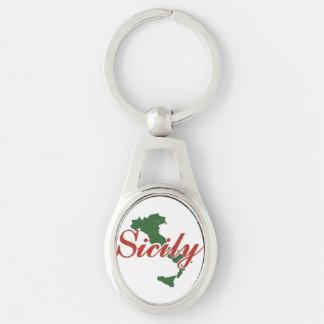Porte-clés Porte - clé de la Sicile