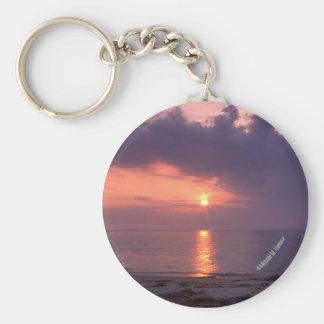Porte-clés Porte - clé de lever de soleil de baie de
