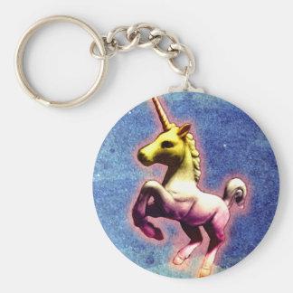 Porte-clés Porte - clé de licorne (miroitement de galaxie)