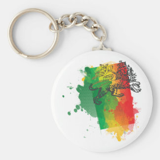 Porte-clés Porte - clé de lion de la Jamaïque Zion