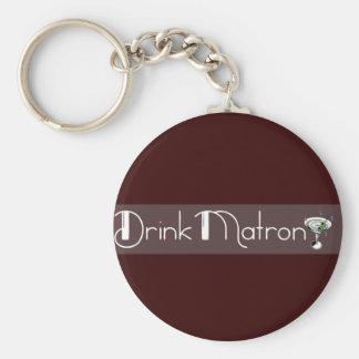 Porte-clés Porte - clé de logo d'infirmière de boissons