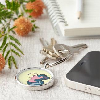 Porte-clés Porte - clé de Madame rose Flutterfly