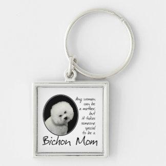 Porte-clés Porte - clé de maman de Bichon