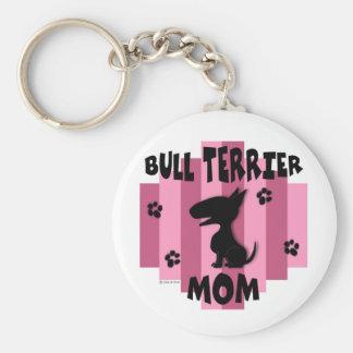 Porte-clés Porte - clé de maman de bull-terrier