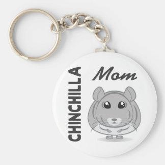 Porte-clés Porte - clé de maman de chinchilla