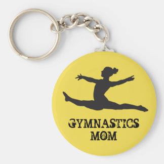 Porte-clés Porte - clé de maman de gymnastique