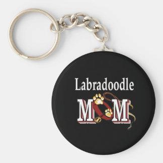 Porte-clés porte - clé de maman de labradoodle