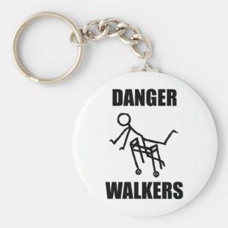 Porte-clés Porte - clé de MARCHEURS de DANGER