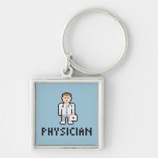 Porte-clés Porte - clé de médecin de pixel